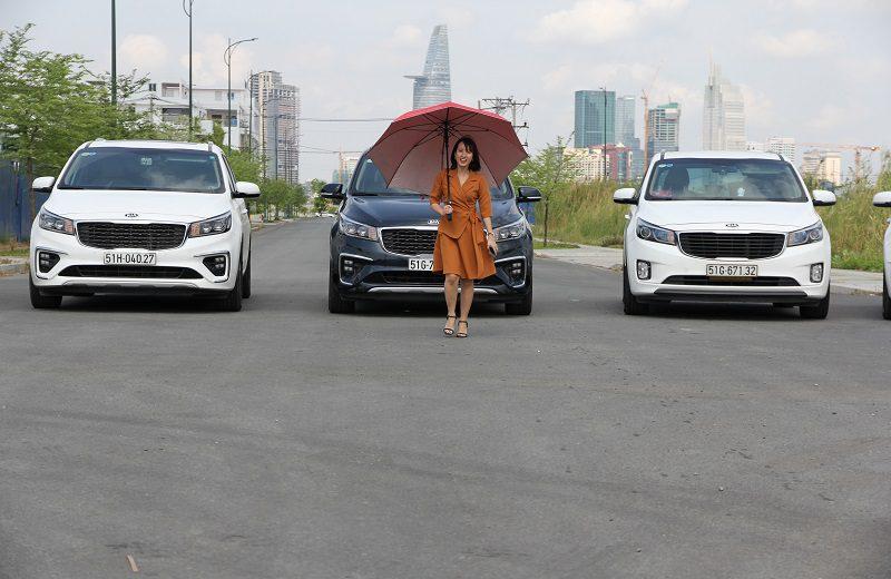 Cho thuê xe Sedona Huyện Hóc Môn