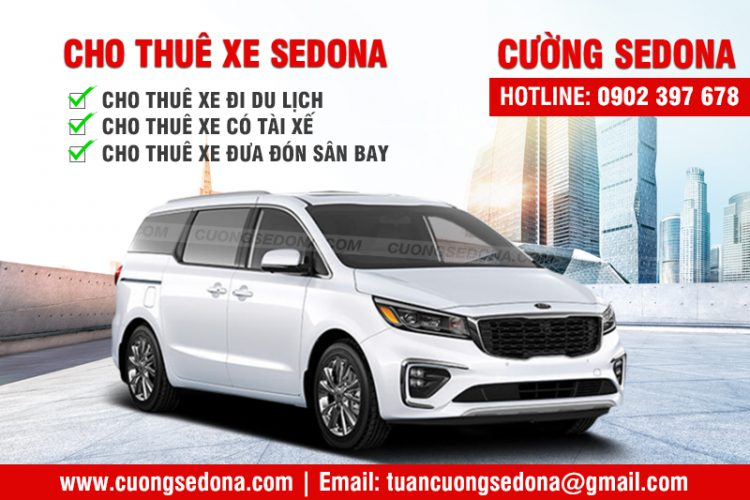 Cho thuê xe Kia Sedona hợp đồng dài hạn