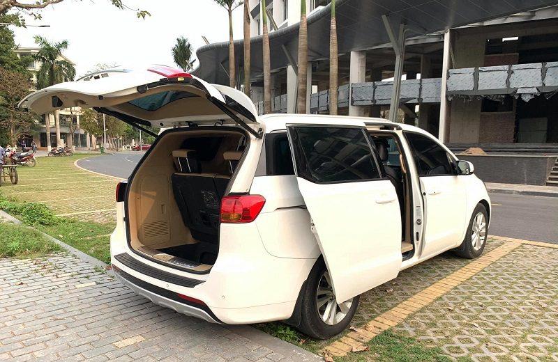 Cho thuê xe Sedona có tài xế