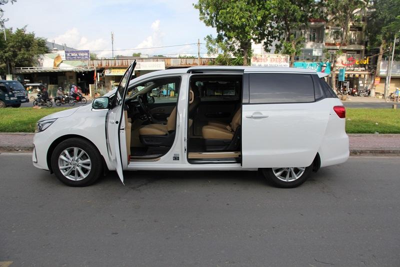Mẫu xe Kia Sedona thiết kế rất sang trọng