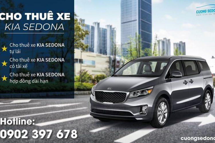Bảng giá cho thuê xe Kia Sedona 2021