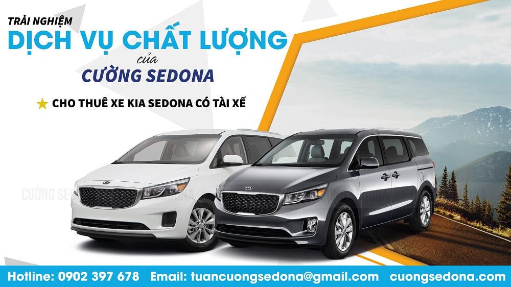 Cho thuê xe Kia Sedona có tài sế 2021