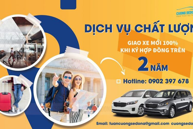 Cho thuê xe Kia Sedona dài hạn tại Hà Nội