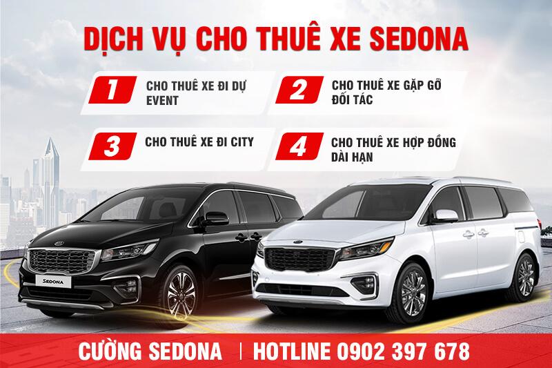 Cho thuê xe Kia Sedona tại Quận Thanh Xuân Giá Rẻ