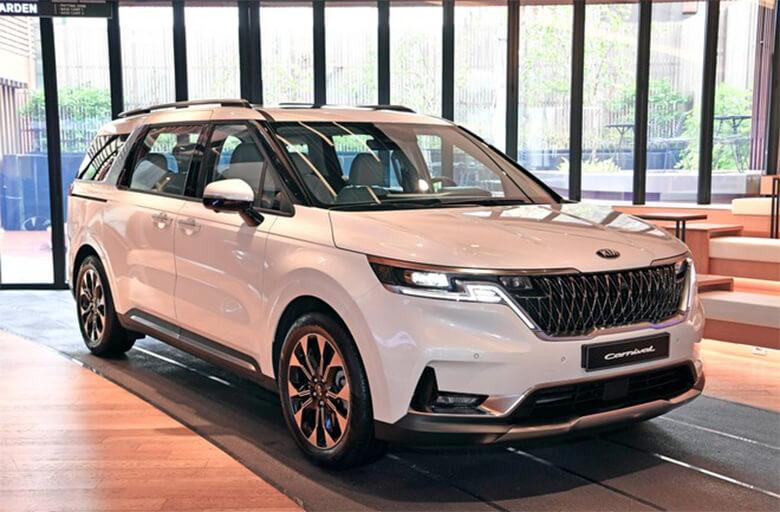 Mẫu xe Kia Sedona mới 2021