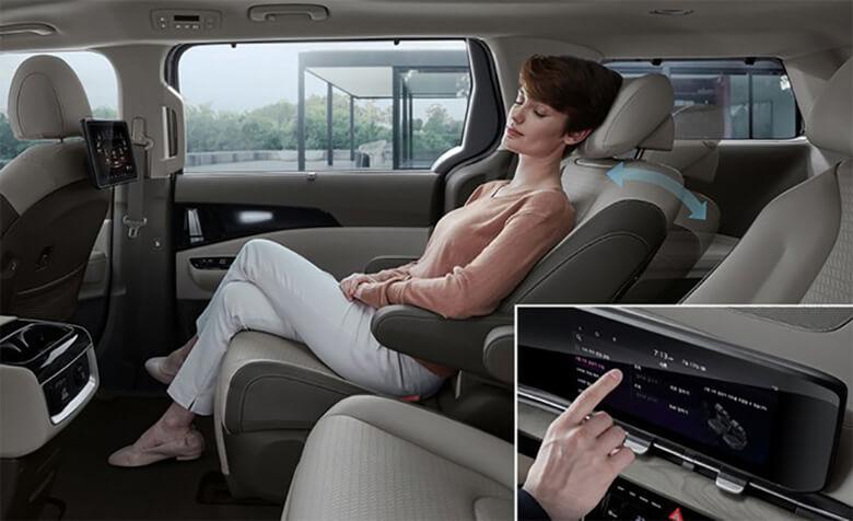 Tiện nghi trên xe Kia Sedona 2021