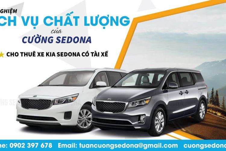 Cho thuê xe Kia Sedona tại Quận Hà Đông