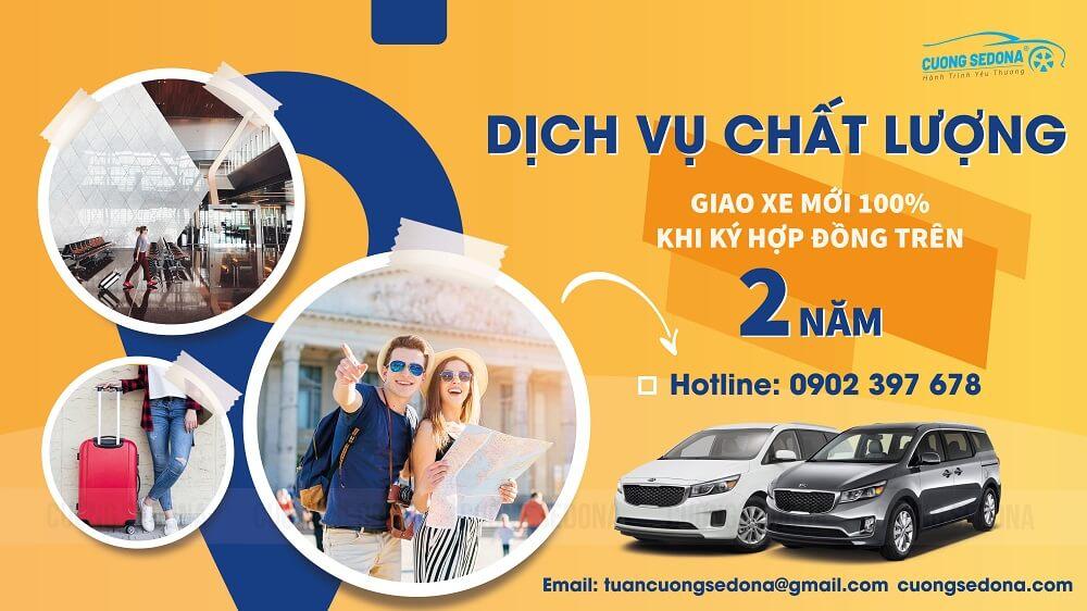Cho thuê xe Kia Sedona tại Quận Hoàng Mai dài hạn