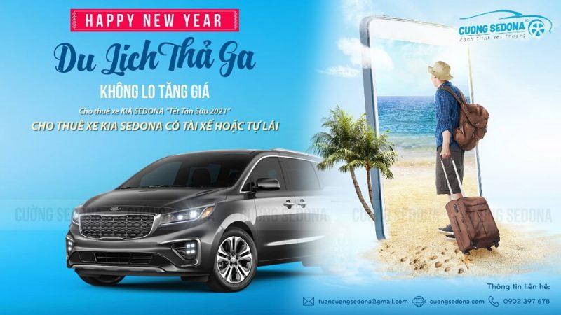 Cho thuê xe KIa Sedona đi du lịch tại Huyện Thạch Thất, Tp Hà Nội