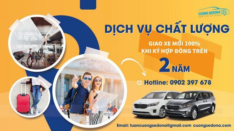 Cho thuê xe KIa Sedona hợp đồng dài hạn tại Huyện Thạch Thất