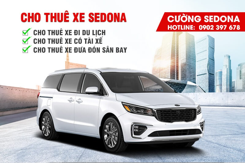 Cho thuê xe Kia Sedona tại Huyện Đông Anh, Tp Hà Nội