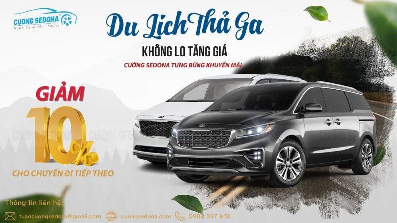 Giảm ngay 10% khi thuê xe Kia Sedona tại Huyện Đan Phượng, Tp Hà Nội